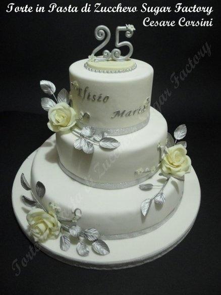 25 anni di matrimonio  Cake by cesare