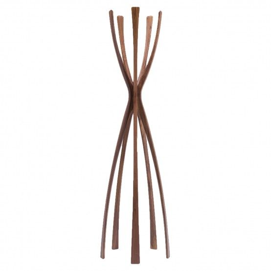Flamingo Coat Stand Walnut
