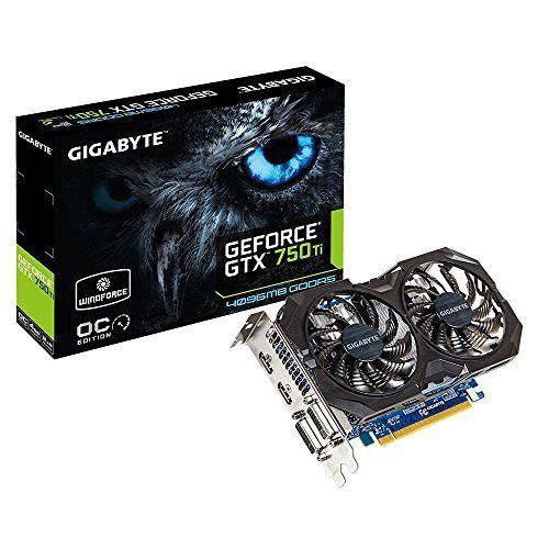 Gigabyte N75TWF2OC-4G Carte graphique Nvidia GeForce GTX 750 T 1059 MHz 4096 Mo PCI Express