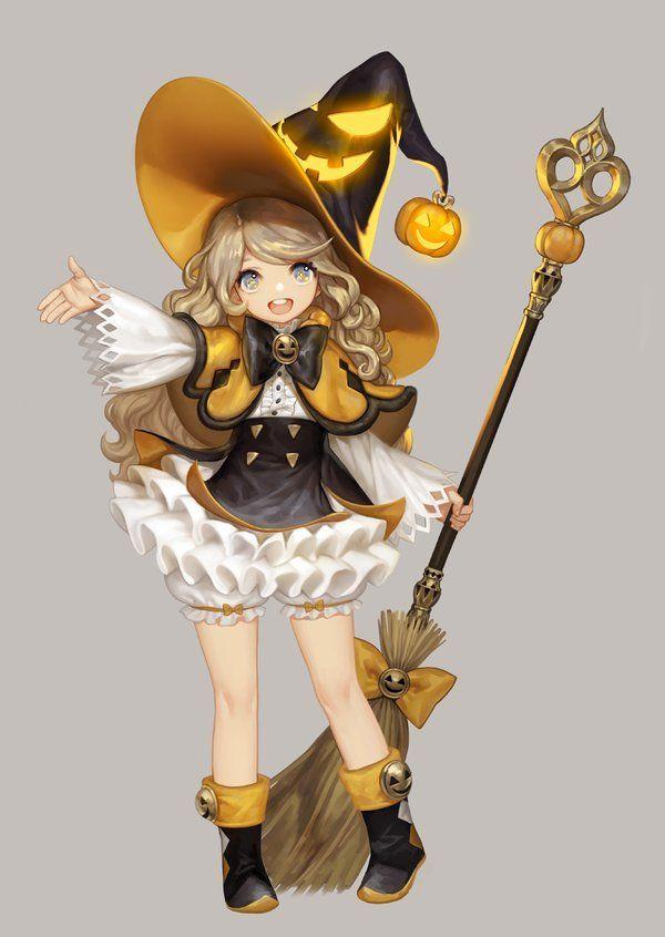 Anime Characters For Halloween : Shanshengqi采集到q呀q 角色篇 日韩方向 图 花瓣 anime witch