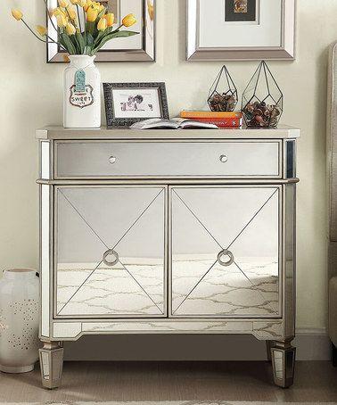Look at this #zulilyfind! Abbott Mirror Sideboard Cabinet #zulilyfinds