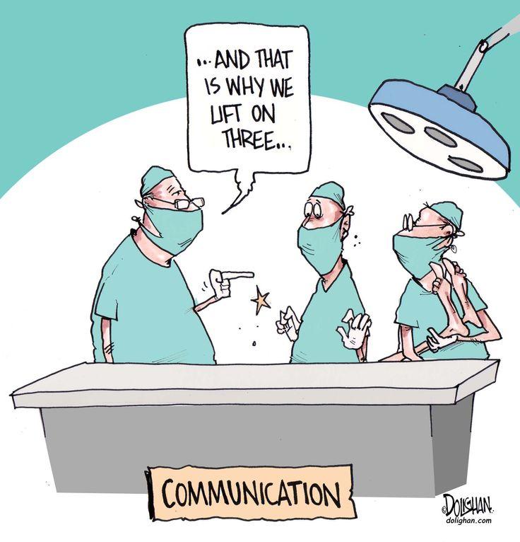 Communication #healthcare #humor