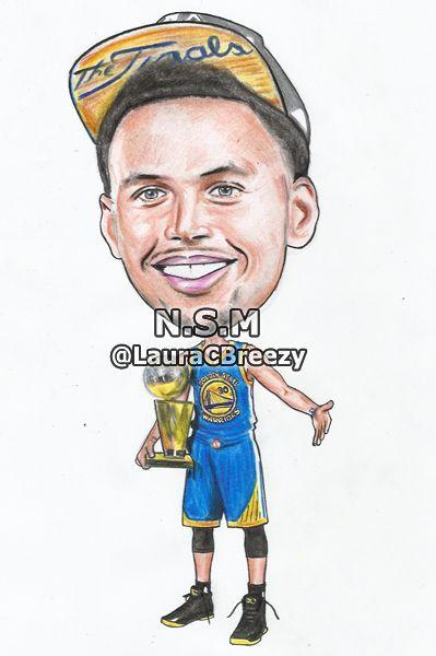 "Stephen Curry""2015 NBA Champion"" | Cartoons | Pinterest | Nba champions, Posts and NBA"