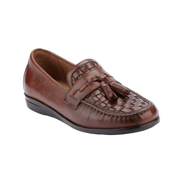 Men's Dockers Hillsboro Loafer ($60) ❤ liked on Polyvore featuring men's fashion, men's shoes, men's loafers, brown, casual, driving shoes, mens loafers, mens slip on loafers, mens brown leather shoes and mens slip on shoes