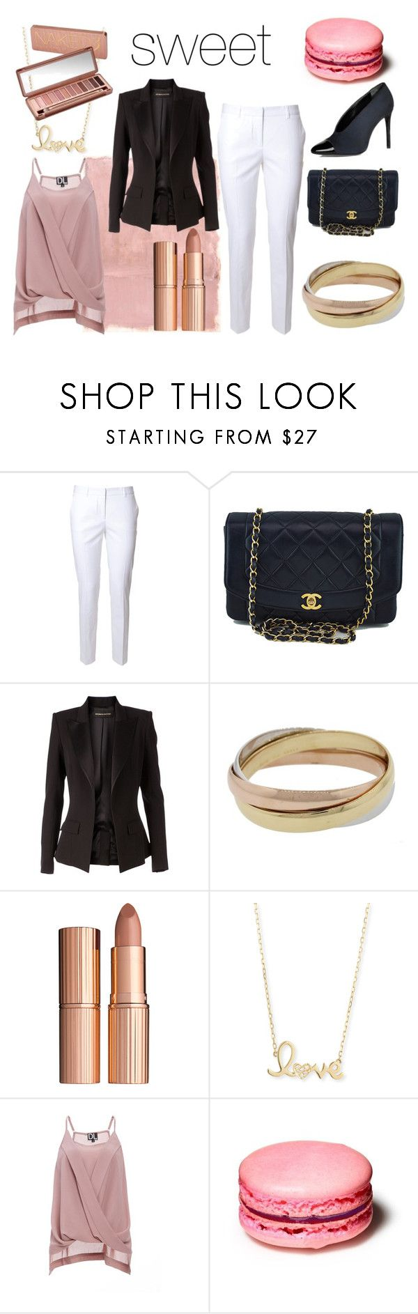 """Untitled #16"" by slavulienka on Polyvore featuring Rothko, Alberto Biani, Chanel, Alexandre Vauthier, Cartier, Charlotte Tilbury, Sydney Evan, DailyLook, Lanvin and Urban Decay"