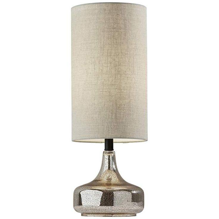 Cassandra Cracked Mercury Glass Accent Table Lamp 83k19 Lamps Plus In 2021 Glass Accent Tables Table Lamp Lamp