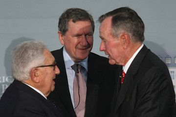 ... agents Henry Kissinger, George Bush, and the late Richard Holbrooke