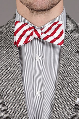 Countess Mara Candy Cane Bowtie - I wanna eat it