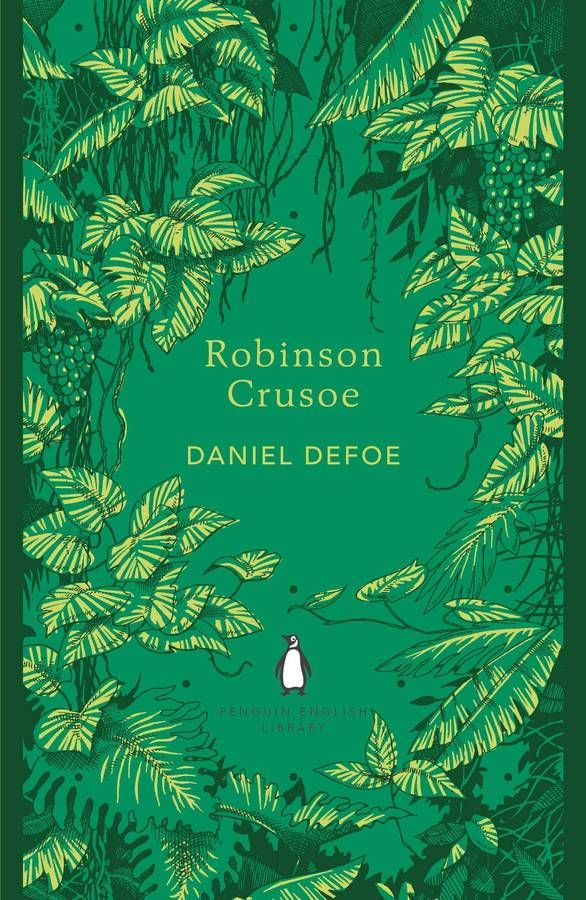 Cover for Robinson Crusoe by Daniel Defoe :: Penguin Books