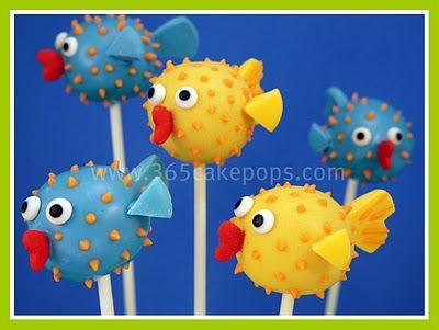 Google Image Result for http://4.bp.blogspot.com/-GGLufwNrmmU/Txj1571x9vI/AAAAAAAABns/K05f0oj0HEs/s400/blowfish%2Bcake%2Bpops.jpg