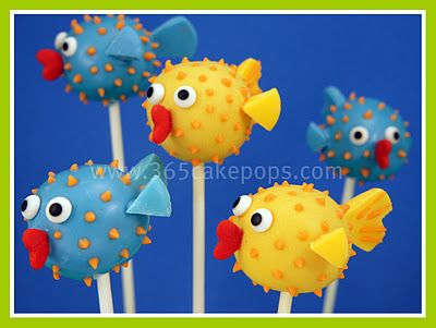 Blow Fish Pops