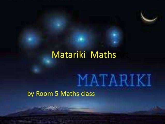 matariki maths - Google Search