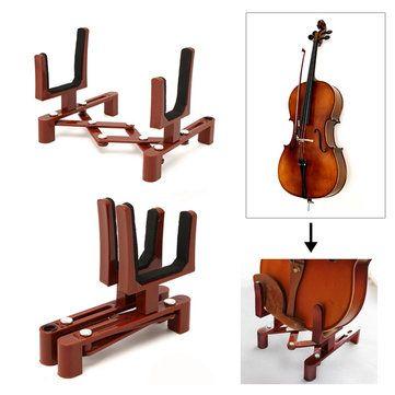 Sólo €7.44, compra mejor Plegable viola violín instrumento ukelele soporte constante titular de soporte para estantes venta en línea en pricio del wholesale. Almacén de EE.UU./UE.