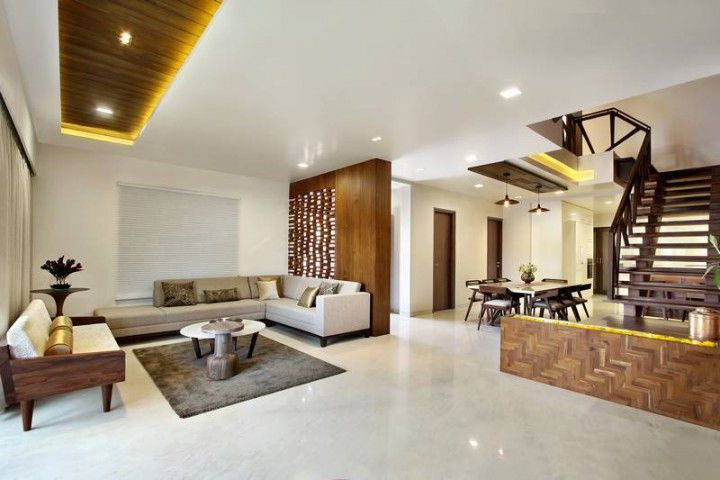 Nitya Bungalow A T Associates Residential Interior Interior
