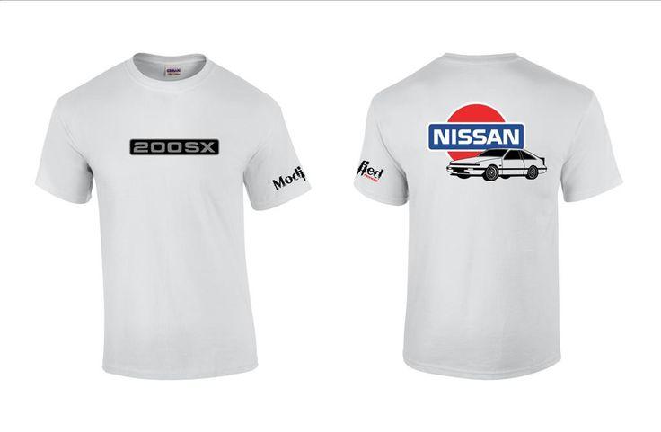 Nissan S12 Hatch Logo Shirt
