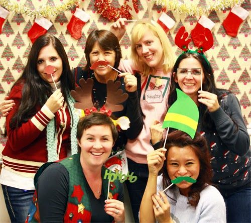 Planning Christmas Party: Young Women's Ugly Sweater Christmas Party, LDS Party