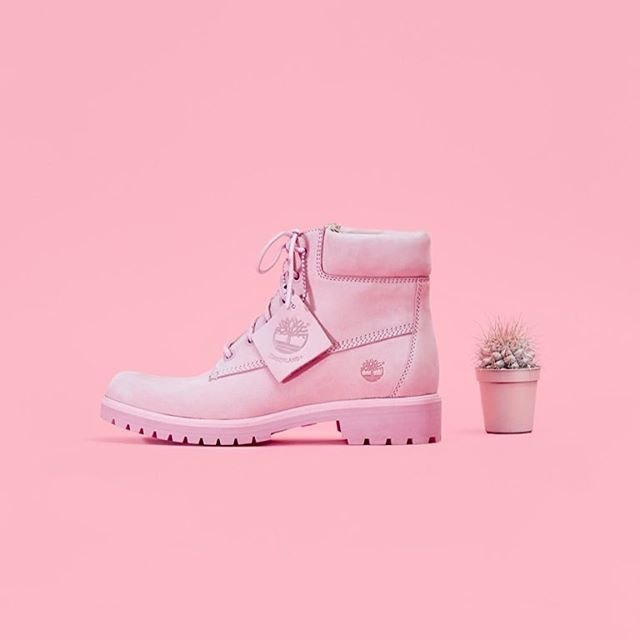 "LOVE  Meet our exclusive Pink @timberland_eu Slim Premium 6"" Nubuck Boots  #timberland"