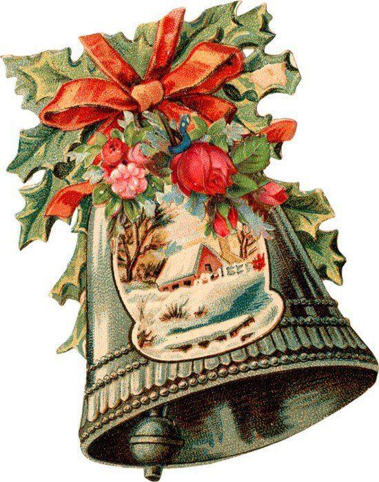 Анимированные, открытки с колокольчиками рождественскими