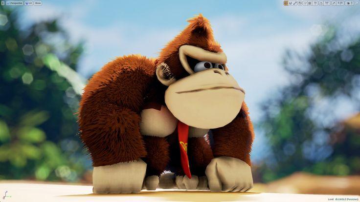 Unreal Engine 4 [4.11] Donkey Kong 64 + NeoFur plugin