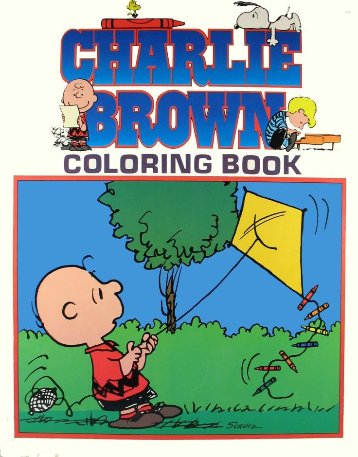 charlie brown coloring book - Peanuts Coloring Book