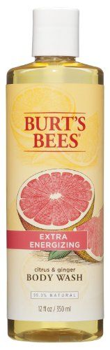 Burts Bees Citrus  Ginger Root Body Wash, 12 Ounce