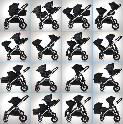 Amazon.com : Baby Jogger 2013 City Select Stroller with Second Seat - Onyx : Jogging Strollers : Baby