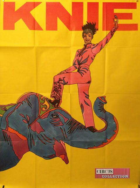 Circus collection: Zirkus Knie 1974