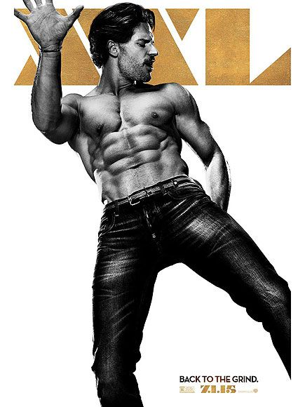 Stop Everything and Check Out Joe Manganiello's Shirtless Poster for Magic Mike XXL http://www.people.com/people/article/0,,20918694,00.html