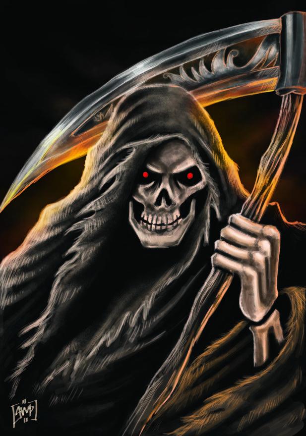 Grim Reaper by agoeng