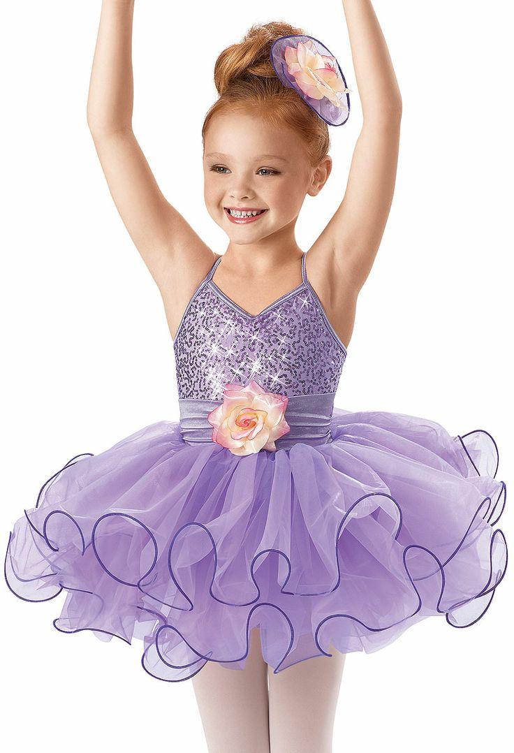 Sequin Curly Hem Ballet Dress -Weissman Costumes