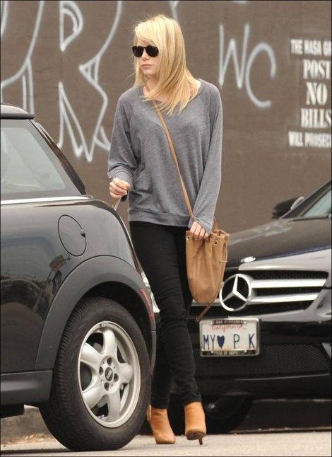 Emma Stone street style   For Style Crush: Emma Stone ...