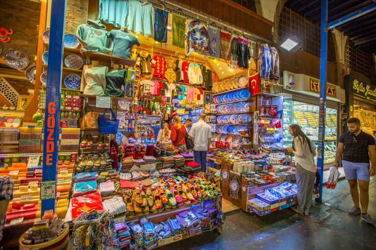23. A vendor at the Grand Bazaar: The Grand Bazaar is home to some seriously colorful objects of desire. According to Travel + Leisure, it was 2014's most-visited attraction in the world, drawing over 91 million people to its 61 labyrinthine streets.