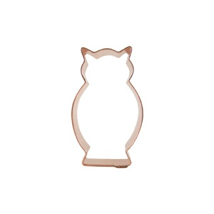 Owl cookie cutter. This neat site has all the novelty copper baking tools.