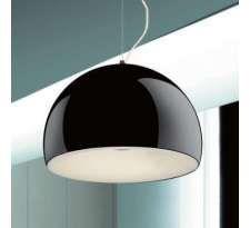 LAMPA wisząca PATRICIA LDP 8228 B WH Lumina Deco metalowa OPRAWA ZWIS kopuła biały