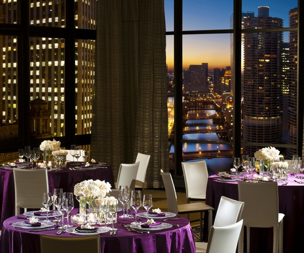 Hotel 71 On Floor For Reception With Panoramic View Of Downtown Chicago