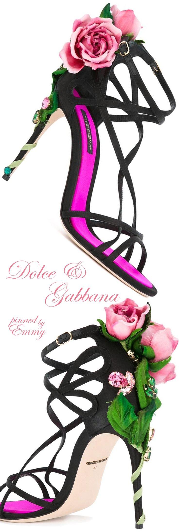 Dolce & Gabbana 'Kira' #sandals #roses