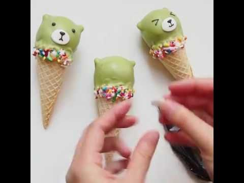 How To Make Adorable Animal Cake Pops - YouTube