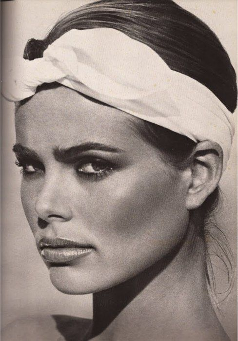 Margaux Hemingway by Francesco Scavullo, 1976.
