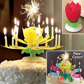 Happy Birthday Fireworks Candle @ Fresh Finds