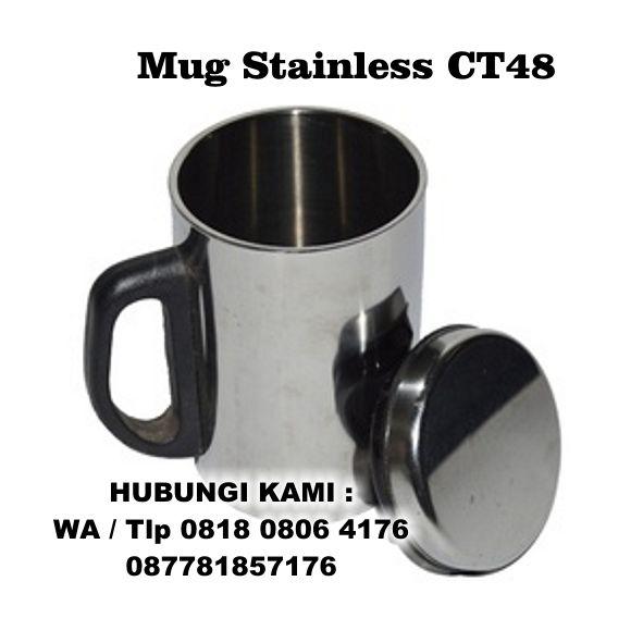 tumbler Promosi, Mug Stainless CT-48, Mug Stainless Stell Promosi, Tumbler Botol Minum CT48, Mug SS CT 48
