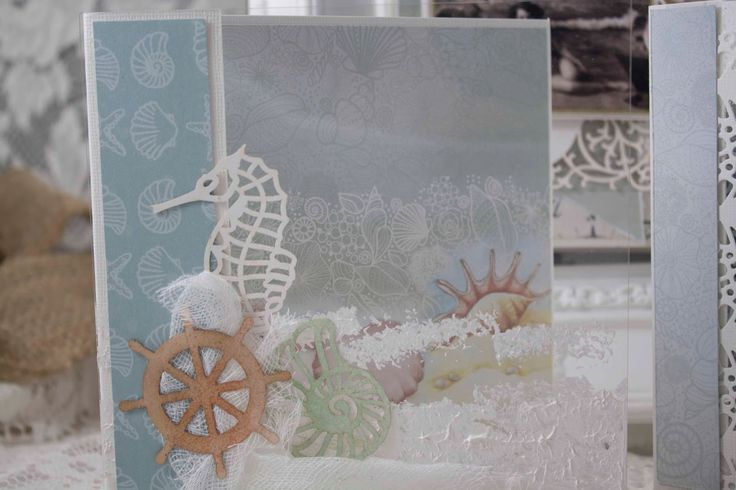 Artdeco Creations Brands: Sea Breeze Layouts and Cards created by Guest Designer Denise Boddey #seabreeze #couturecreationsaus