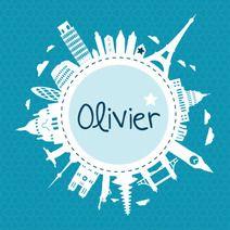 Wereld - Olivier #geboortekaartje