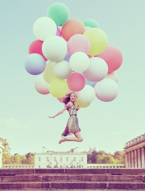 Colorful Oversized Ballooons