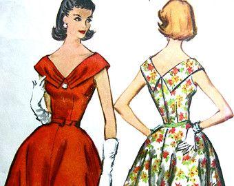 Sin cortes Vintage años 1940 McCall patrón 4705 raro por anne8865