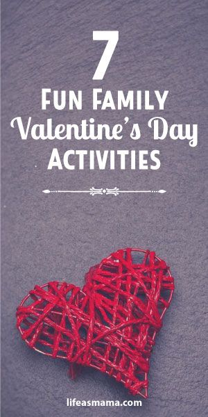 If you aren't planning on celebrating Valentine's Day romantically, you can turn it into a special holiday with your family. We've found some super fun, easy and memory-making ways to spend your Valentine's, and we hope you enjoy!