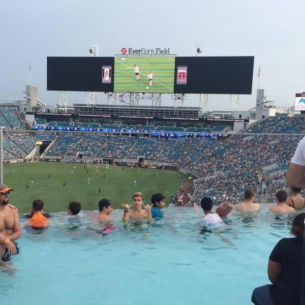 Best 9 jacksonville jaguars stadium everbank field ideas - Jacksonville jaguars swimming pool ...