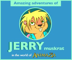 JerryMuskrat.com Stories, Fun and Educational Videos for kids. Teach children about Environment. Part of the world of Animazia.com