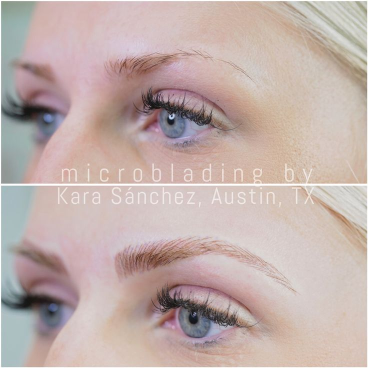 Image Result For Microblading Platinum Blonde Eyebrows