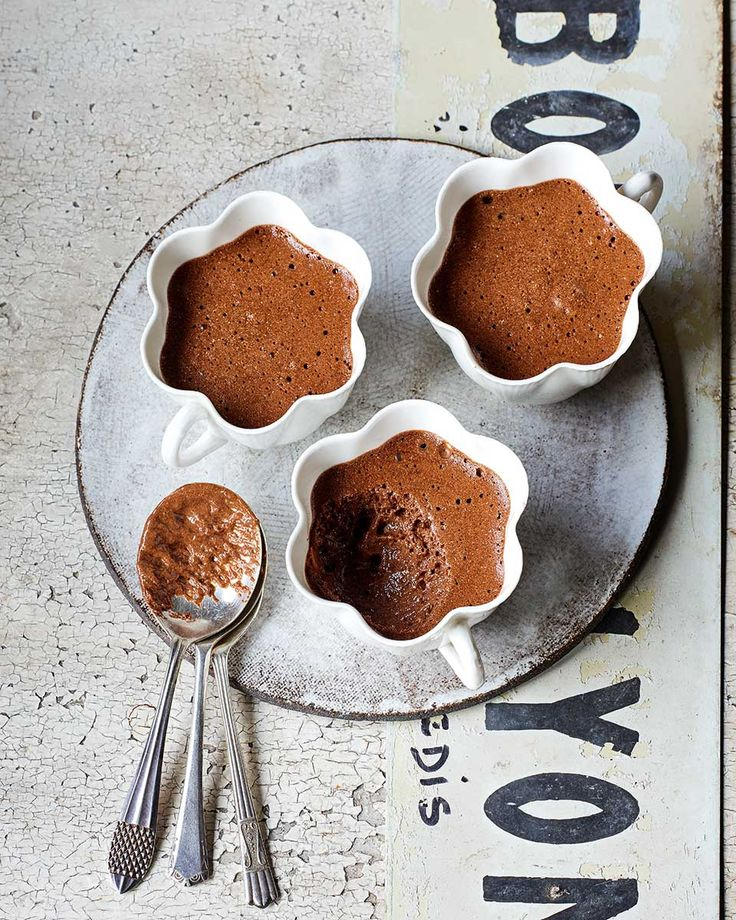 Creamy, light-as-air chocolate mousse is a great way to end a dinner party. James Martin's version of the classic dessert, made with just three ingredients, is easy to make and even easier to eat.