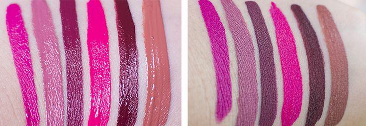 http://www.candykiller.pl/ Golden Rose liquid lipstick swatch